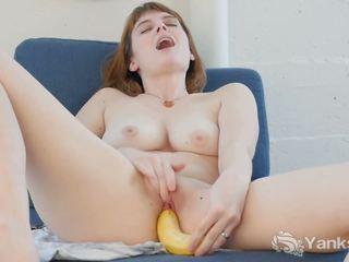 Krūtainas sosha jāšanās a banāns, bezmaksas yanks porno ea