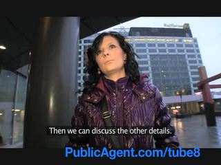 PublicAgent Lenka Take Cash for a Ride...