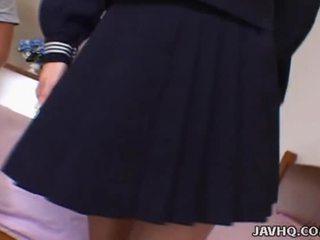 Hawt Japanese Wench Ami Hyuuga Receives Spoiled