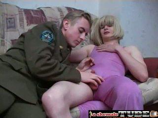 seks oralny, fucking ass, crossdresser