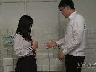 študent, japonski, blowjob