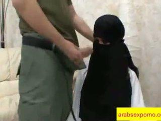 Arab seksi doggy tyyli pitkä video- klipsi