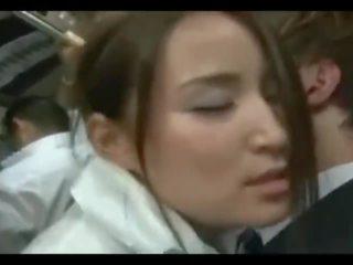 Asian Schoolgirl Bus