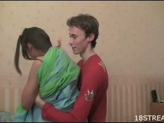 Shorthaired babe jente