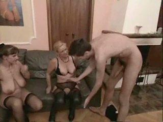Amateur madura swingers trío sexo vídeo