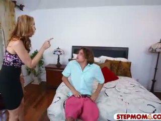 Julia ann och abby lee brazil het trio i den sovrum