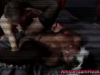 Real dutch whore fuck cumshot