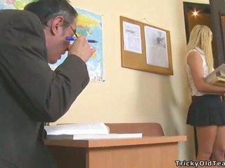 Delightful anal sex with teacher