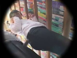 Maniac attacks library nerd employee at her work place