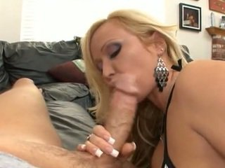 Beautiful blonde MILF with perfect big ass having sex