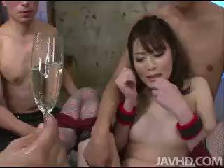 morena, brinquedos, sexo grupal
