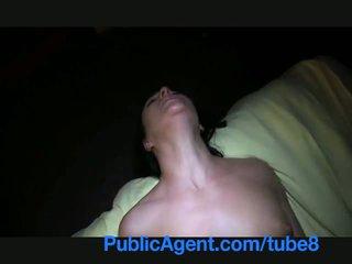 Publicagent natali blue ogen verlegen meisje has multiple orgasms