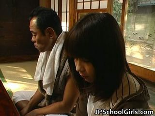 Haru sakuragi asiatico studentessa has sesso