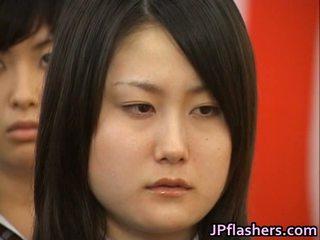 Japans babe gedurende graduation