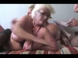 গ্রুপ সেক্স, grannies, matures