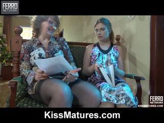 Flo&alana pussyloving mami onto video