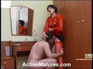 Christina dan monty attractive mommy onto video