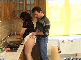 Grasso fica cucina pavimento cazzo, gratis bella e grassa (bbw) porno 81