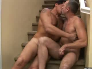 Hot dad in tight briefs is best fuck in town