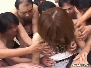 Japanilainen vauva touched mukaan monet men uncensored