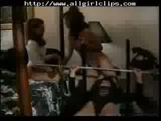 Bodybuilding Bitches - Jeanna Fine Part 2 On 2 lesbian girl on girl lesbians