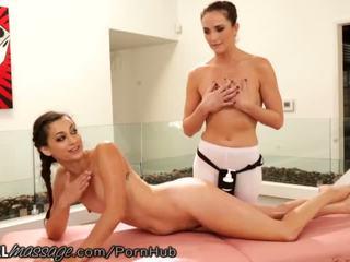 Allgirlmassage accidental lesbiete tribbing