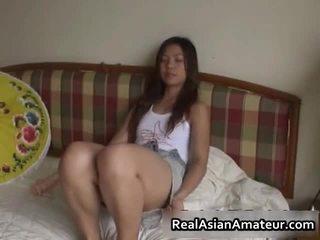 Horny Asian Sex Toy Fucking Scene