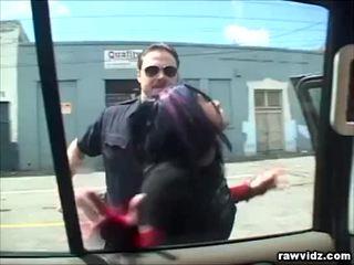 Katrina Kraven Caught By Horny Cop