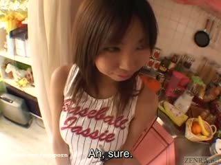 Rondborstig tan japans schoolmeisje groot breast complex subtitles