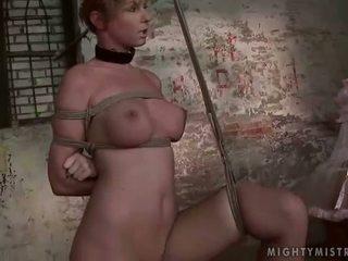 เมียน้อย painfully punishing เธอ slavegirl