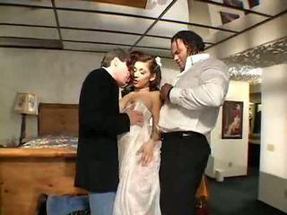 threesome, uniform, brides
