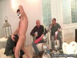 The ļoti visvairāk precious homosexual dzimumloceklis sausage ballīte kādreiz 4 līdz cocksausage