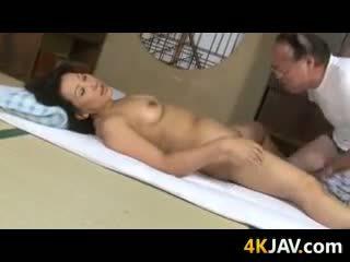 Vies rijpere japans koppel