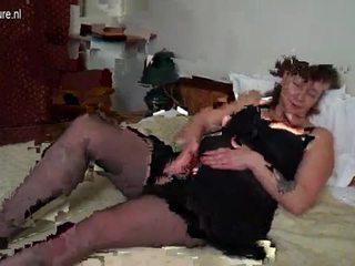 Stor boobsmom med stor leketøy video