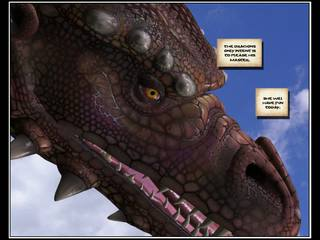 3d komisch dragon rider 1