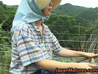 Chisato shouda asiática maduros gaja gets