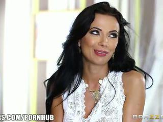 Brazzers - Hot milf Shalina Devine takes some big dick - Porn Video 311