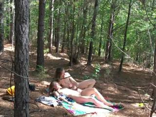outdoor sex, blowjob, redhead