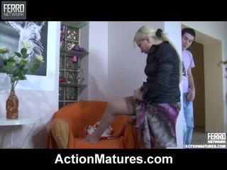 Mescolare di hardcore sesso filmati da azione matura