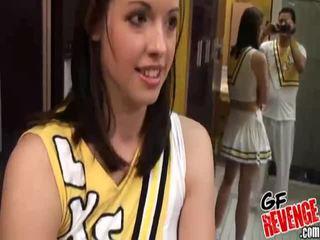 Hardcore seks met cheerleaders afbeelding galerij