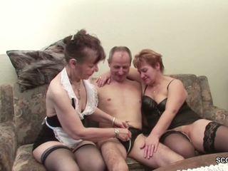 Two deutsch oma im porno talentsuche mit stranger großvater
