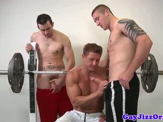 Muscle jock baszás meleg nál nél edzőterem