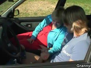 Bil driver bangs besta hore