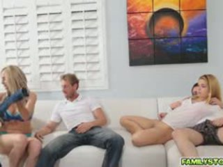 frisch gruppen-sex, mehr große brüste sehen, blowjob beobachten