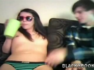 Hot Teen Having Sex With Her Bf On
